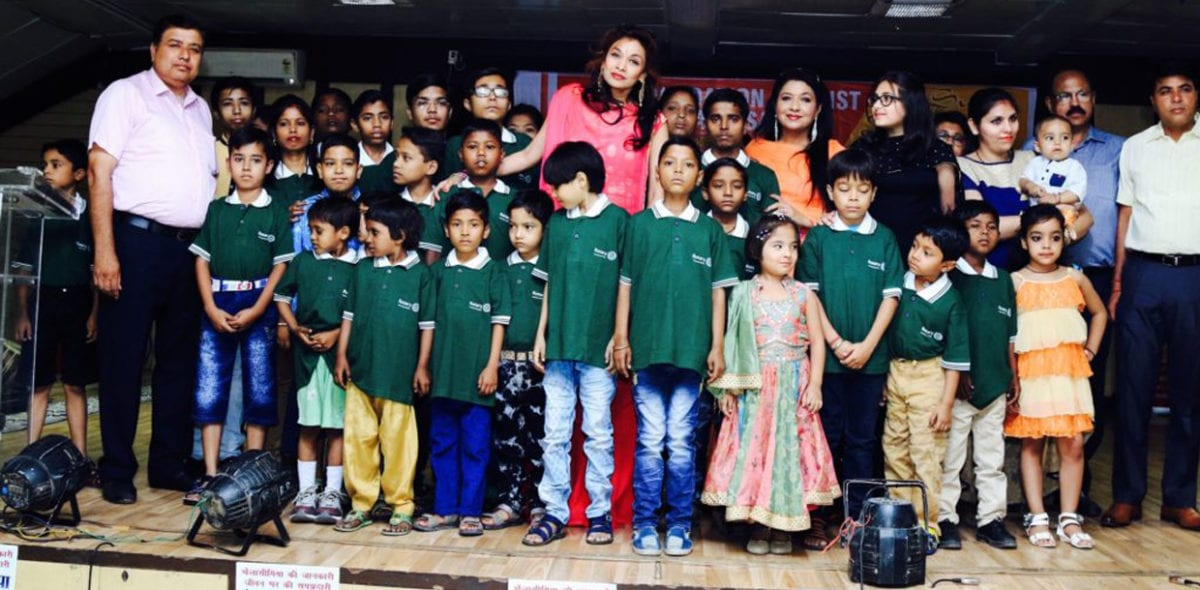 sanjana jon with kids