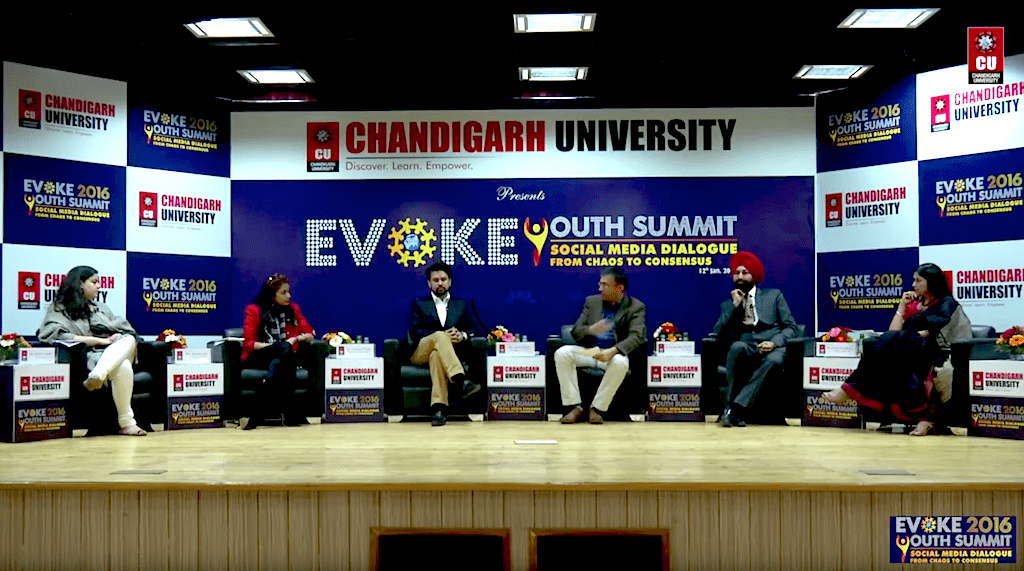 Evoke Youth Summit - Sanjana Jon (New York based Fashion Designer)