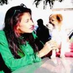 Dr.Sanjana Jon with babyshivani