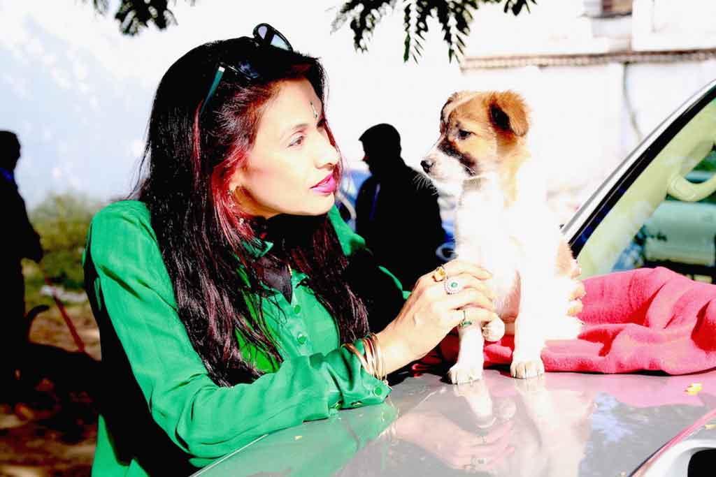 dr.Sanjana Jon with baby-shivani